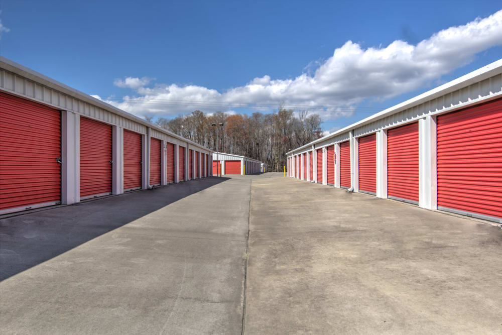 Storage units at Prime Storage in Longs, South Carolina
