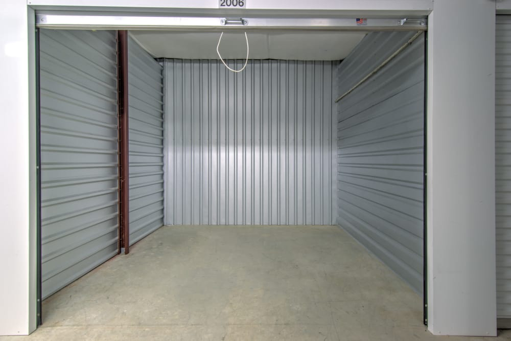 Month to month rent is available with exterior storage units at Prime Storage in Columbia, South Carolina