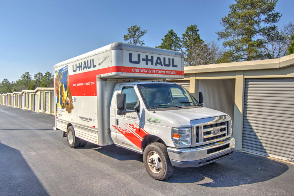 Rent your moving truck at Prime Storage in Columbia, South Carolina