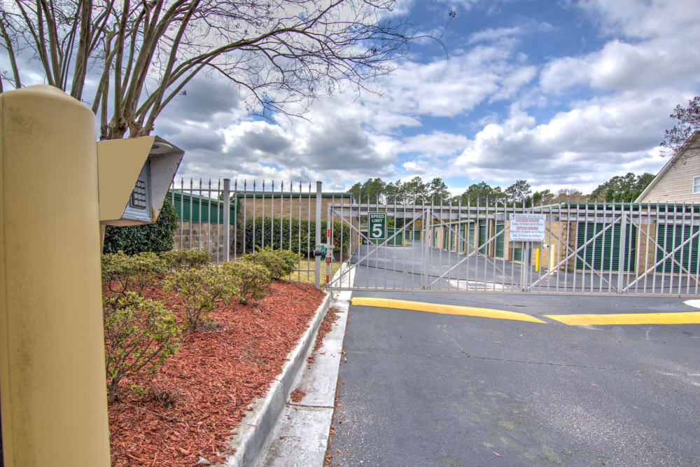 Fully Fenced at Prime Storage in Columbia, South Carolina