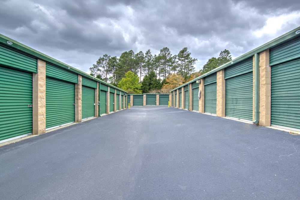 Exterior storage units at Prime Storage in Columbia, South Carolina