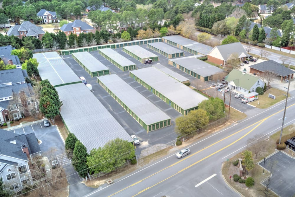 Aerial view at Prime Storage in Columbia, South Carolina