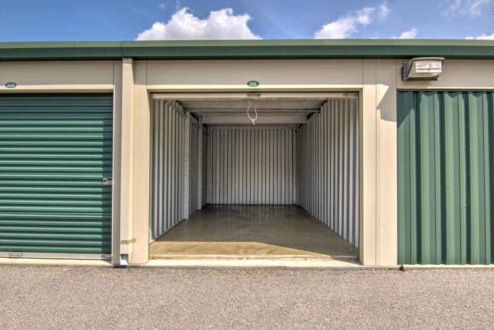 Exceptionnel Month To Month Rent Is Offered With Exterior Storage Units At Prime Storage  In Aiken,