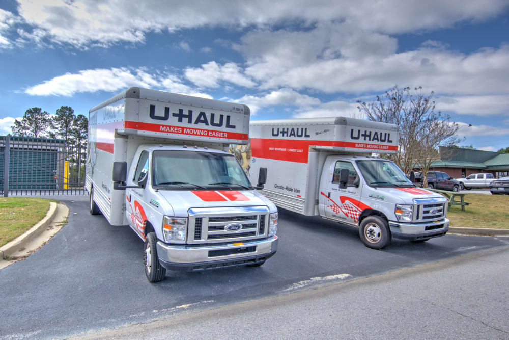 Rent your moving truck with Prime Storage in Columbia, South Carolina