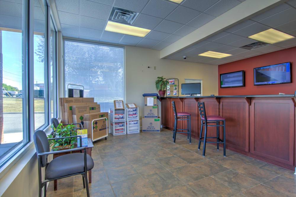 Prime Storage leasing office in Aiken, South Carolina