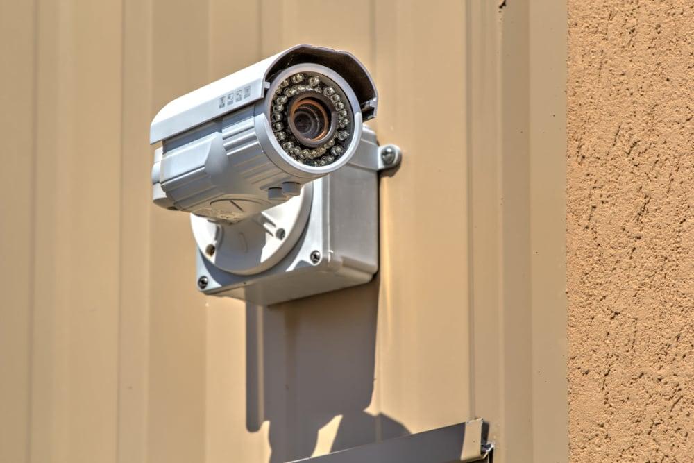Surveillance camera at Prime Storage in Aiken, South Carolina
