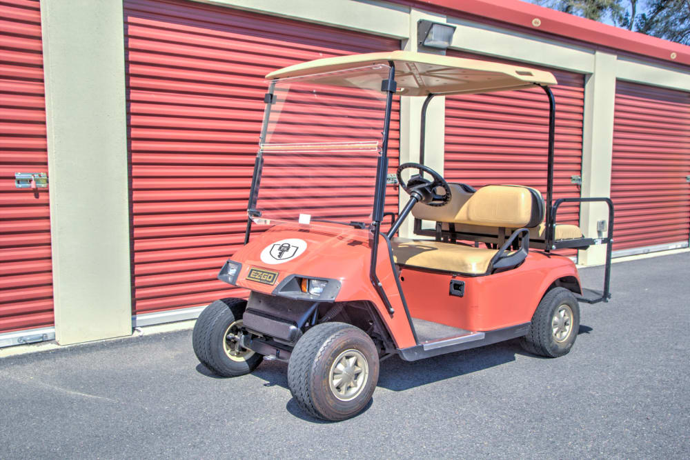 Dollies and carts available at Prime Storage in Aiken, South Carolina