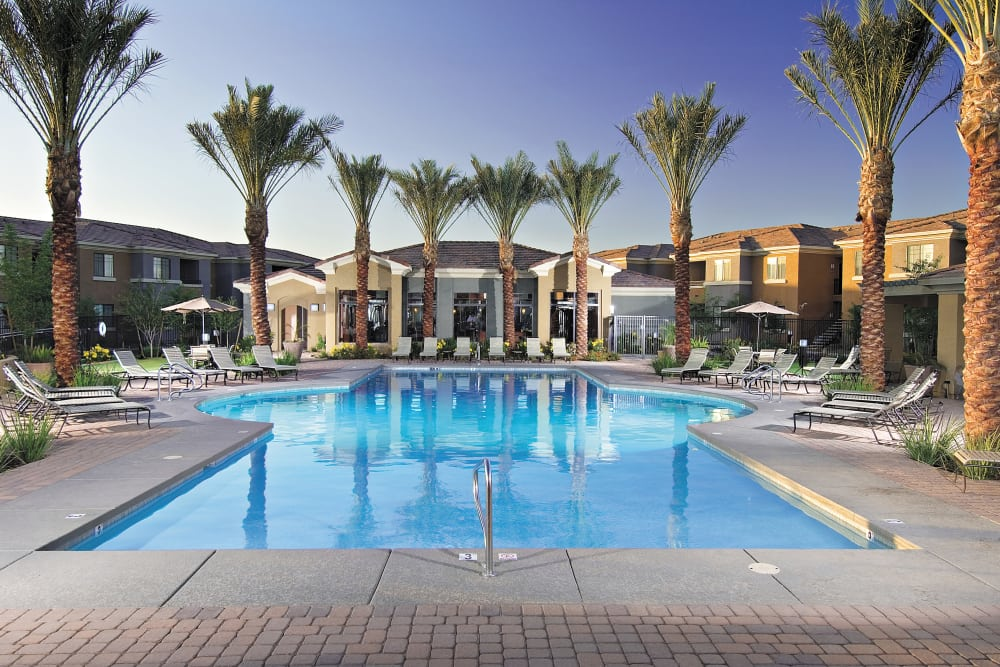 Enjoy a luxury swimming pool at Broadstone Desert Sky
