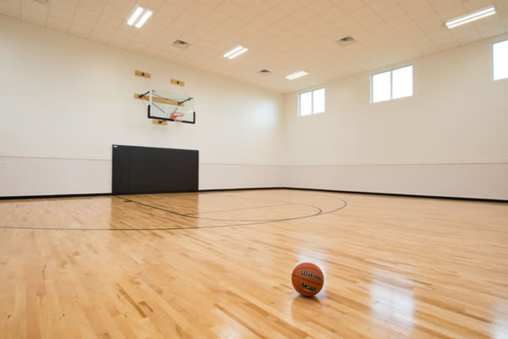 Estancia at Ridgeview Ranch offers a basketball court in Plano, Texas