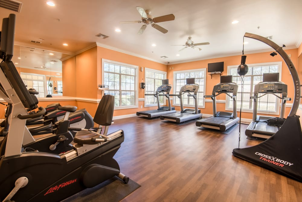 Our apartments in Plano, Texas have a state-of-the-art fitness center