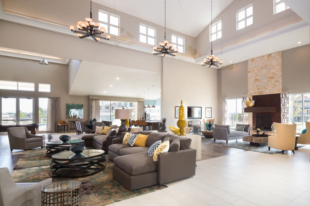 Luxury Clubhouse at Estates of Richardson in Richardson, Texas