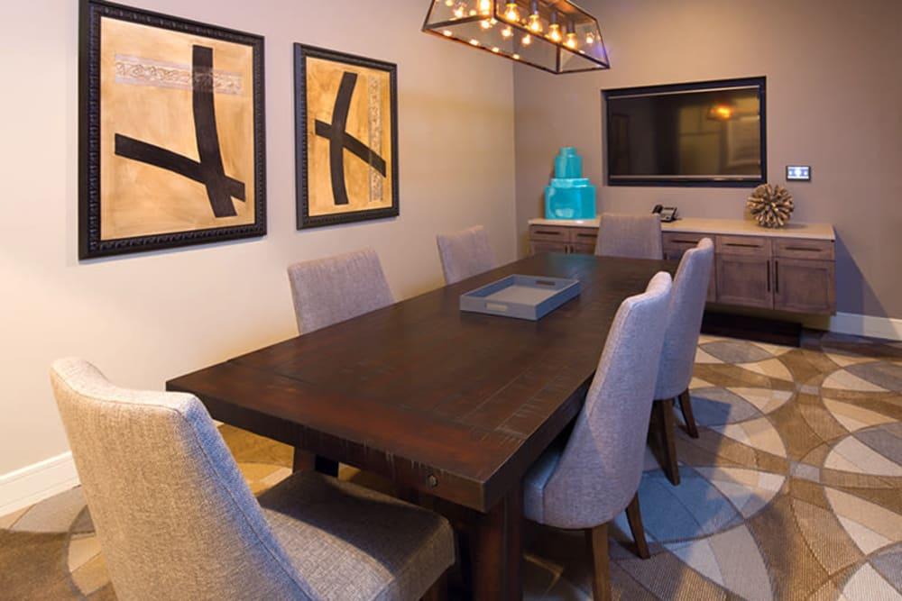 Our Apartments in Richardson, Texas offer a Conference Room