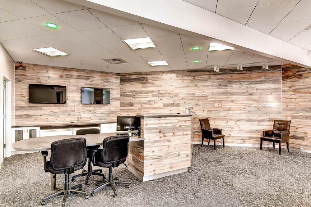 Office area at Greenbox Self Storage in Denver, Colorado