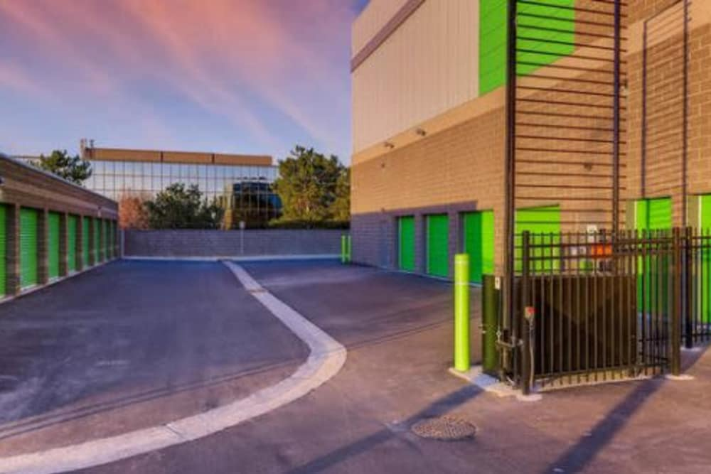 Units at Greenbox Self Storage in Centennial, Colorado