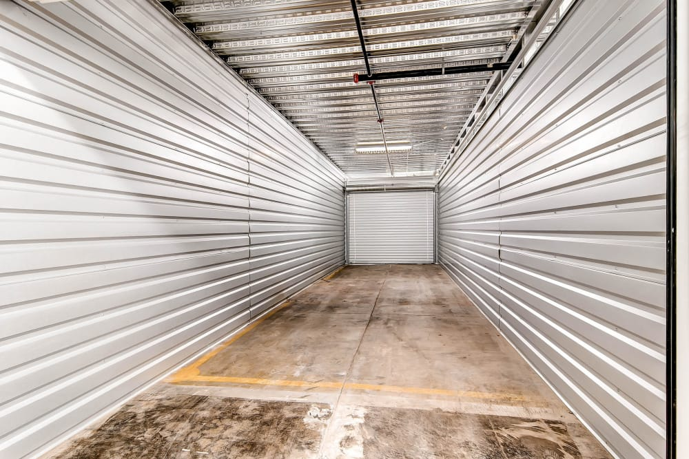 Another view inside a unit at Greenbox Self Storage in Denver, Colorado