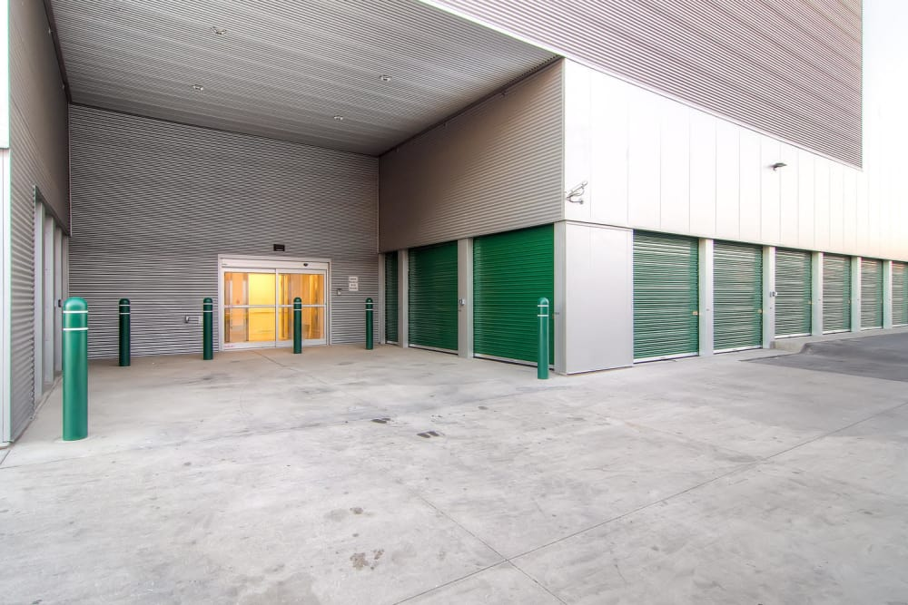 Loading dock area at Greenbox Self Storage in Denver, Colorado