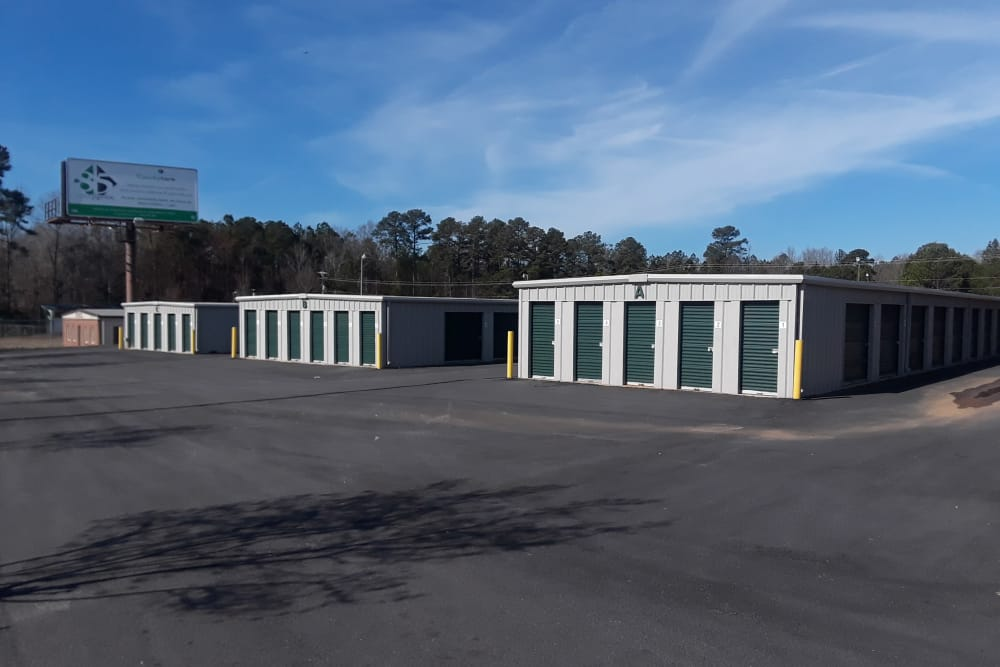 More storage units at Monster Self Storage in Greenwood, South Carolina