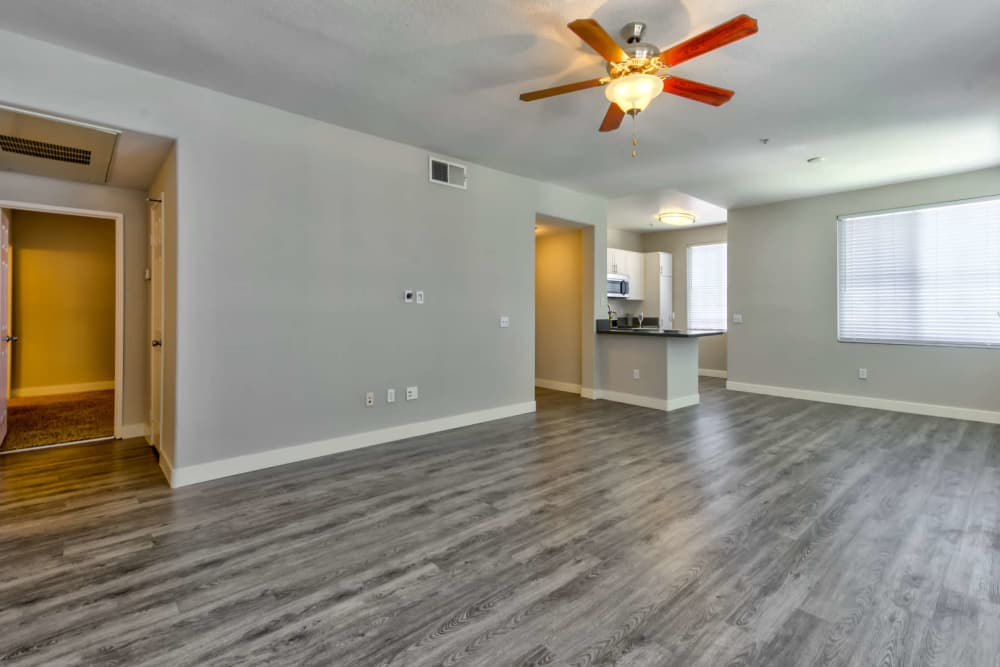 Open concept floor plan at Alvista Towngate