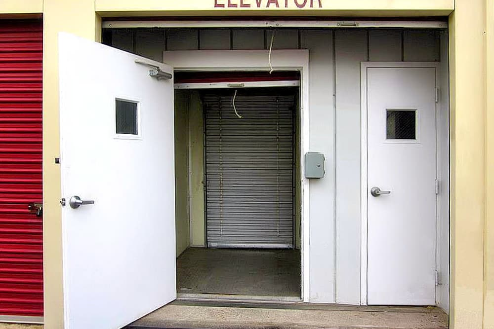 Elevator at A Space Place Self Storage in Medford, New York