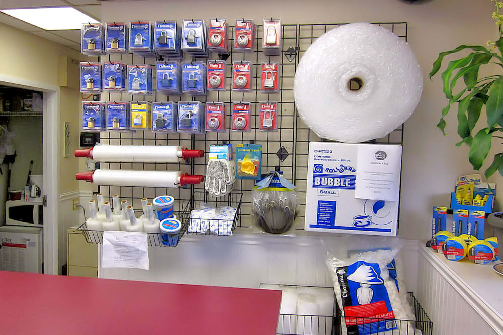 Choose your packing and moving supplies at A Space Place Self Storage in Medford, New York
