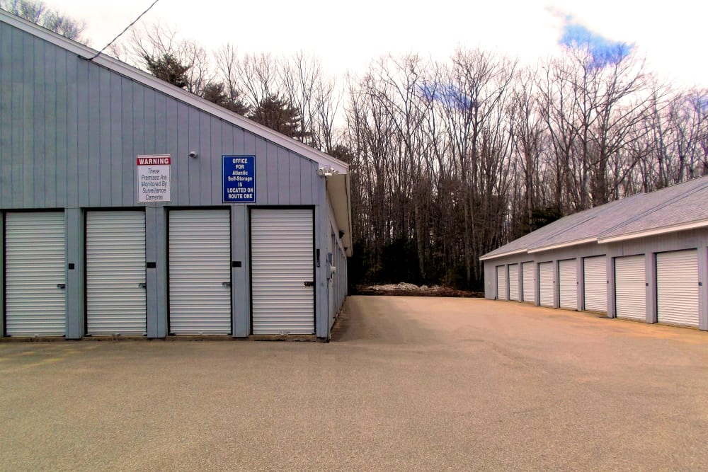 Drive-up units available at Prime Storage in York, Maine