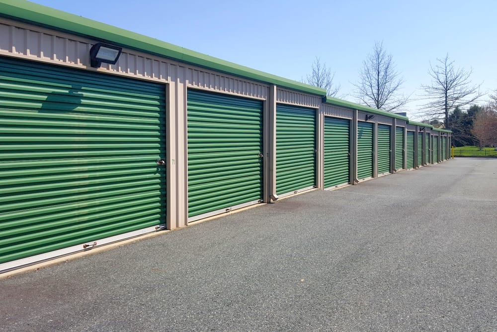 Drive-up units available at Forest Hill Mini-Storage in Forest Hill, Maryland