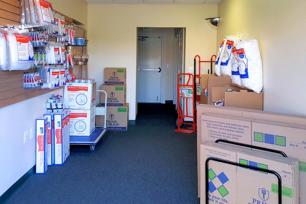 Choose your packing supplies at Forest Hill Mini-Storage in Forest Hill, Maryland