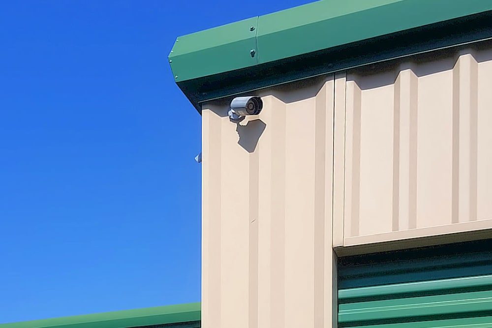 Surveillance cameras at Forest Hill Mini-Storage in Forest Hill, Maryland