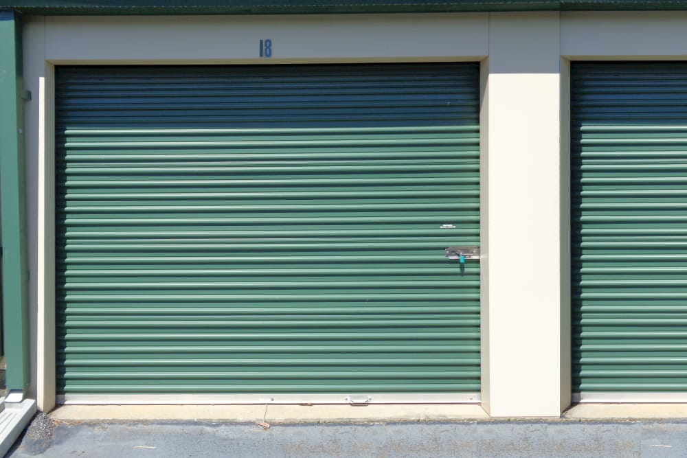 Units at Monster Self Storage in Simpsonville, South Carolina