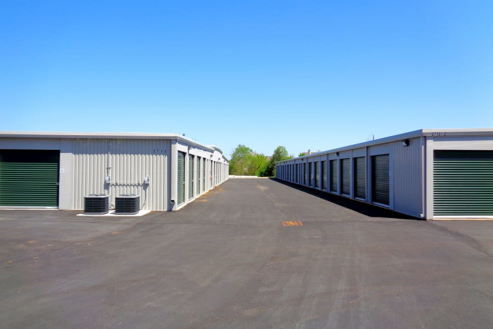 Drive-up units available at Monster Self Storage in Simpsonville, South Carolina
