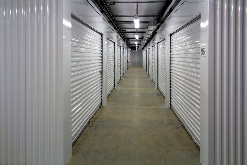 Monster Self Storage offers climate-controlled units in Simpsonville, South Carolina