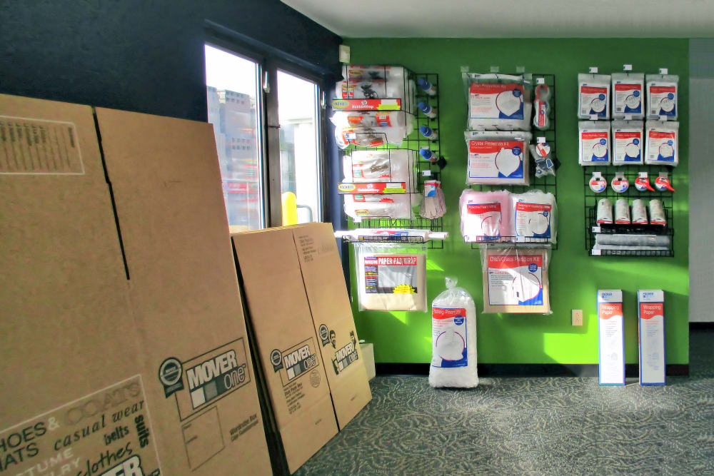 Prime Storage offers packing and moving supplies in Pittsfield, Massachusetts