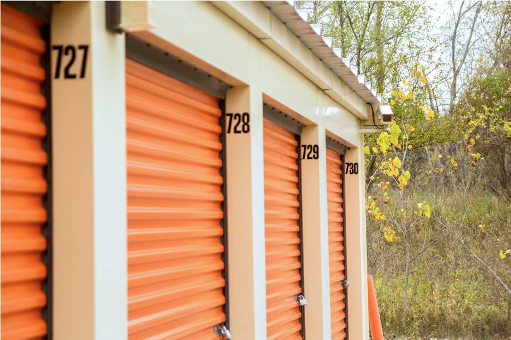 Outdoor units at Prime Storage in Lansing, Michigan