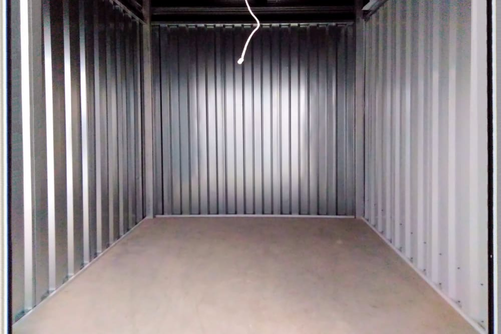 Interior view of unit at Putnam Storage in Danbury, Connecticut