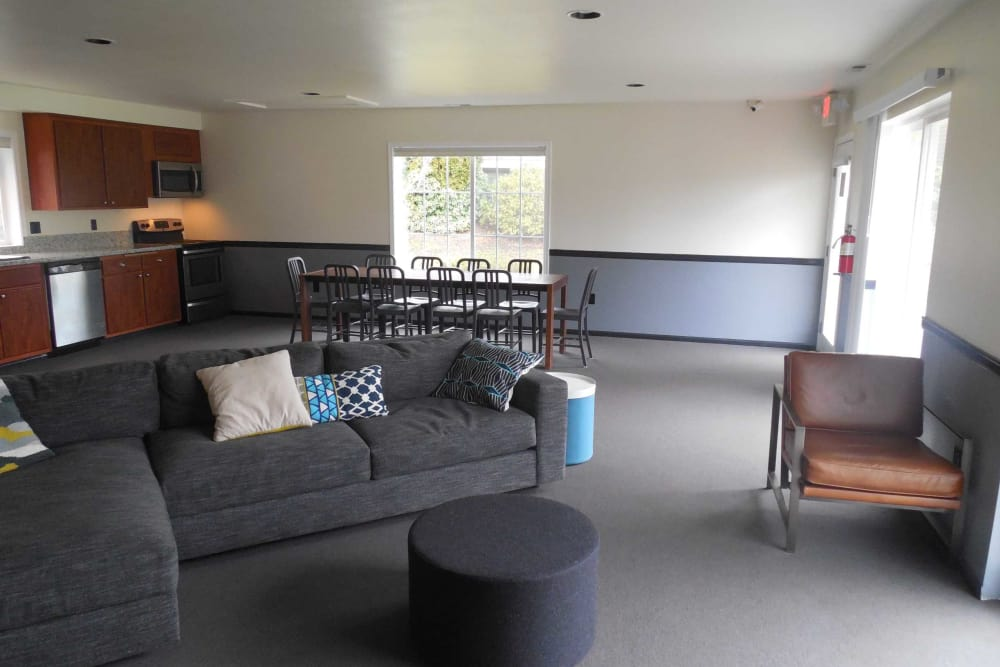 Clubhouse at Conifer Place Apartments in Corvallis, Oregon