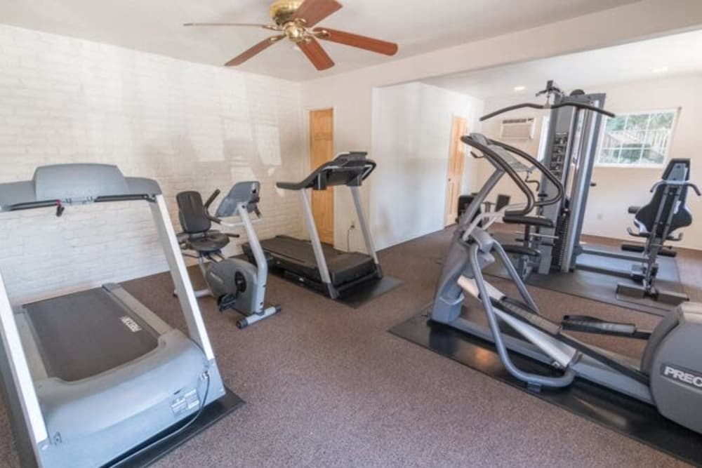 Fitness Center at Sunset Village in West Sacramento, California