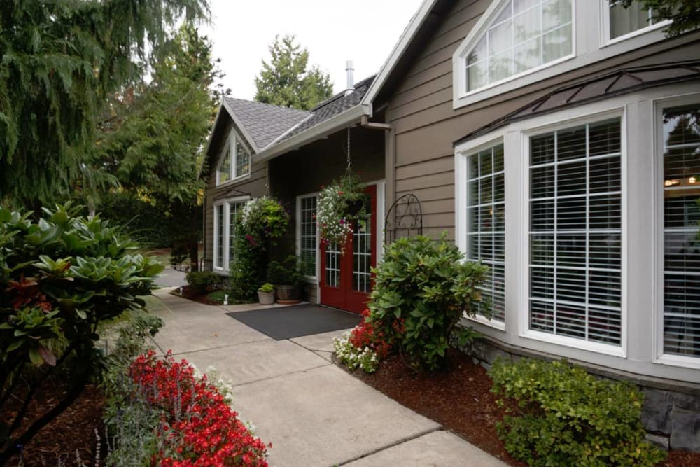 Beautiful external view at Town Center Heights in Happy Valley, Oregon