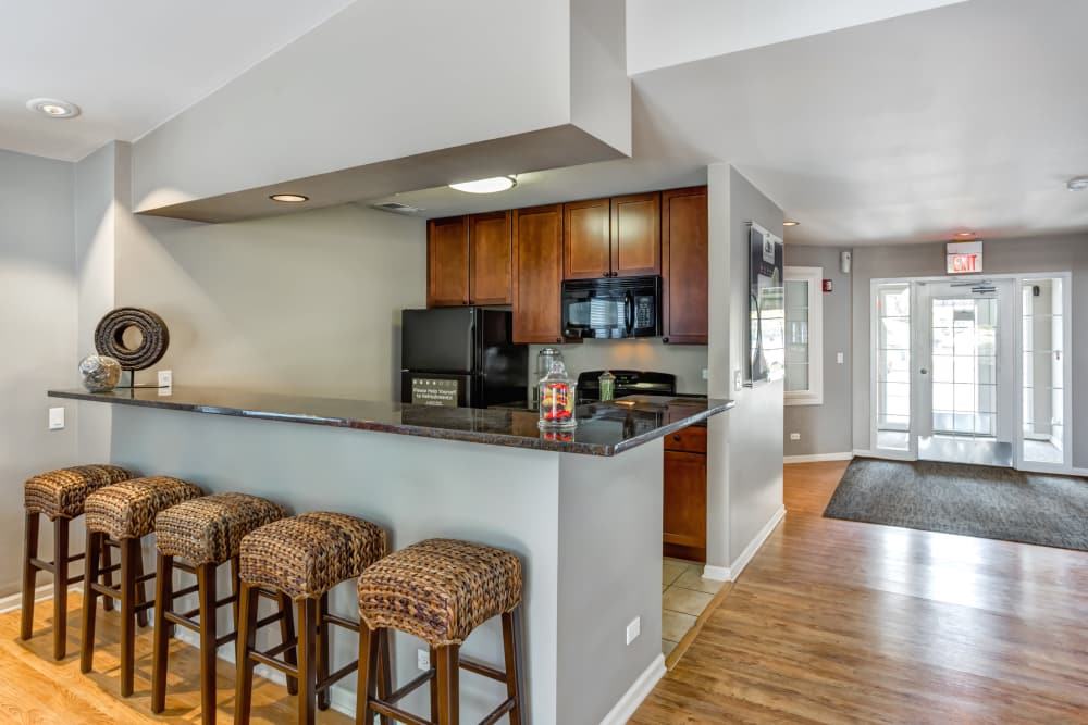 Fitness Center at Lakeview Townhomes at Fox Valley