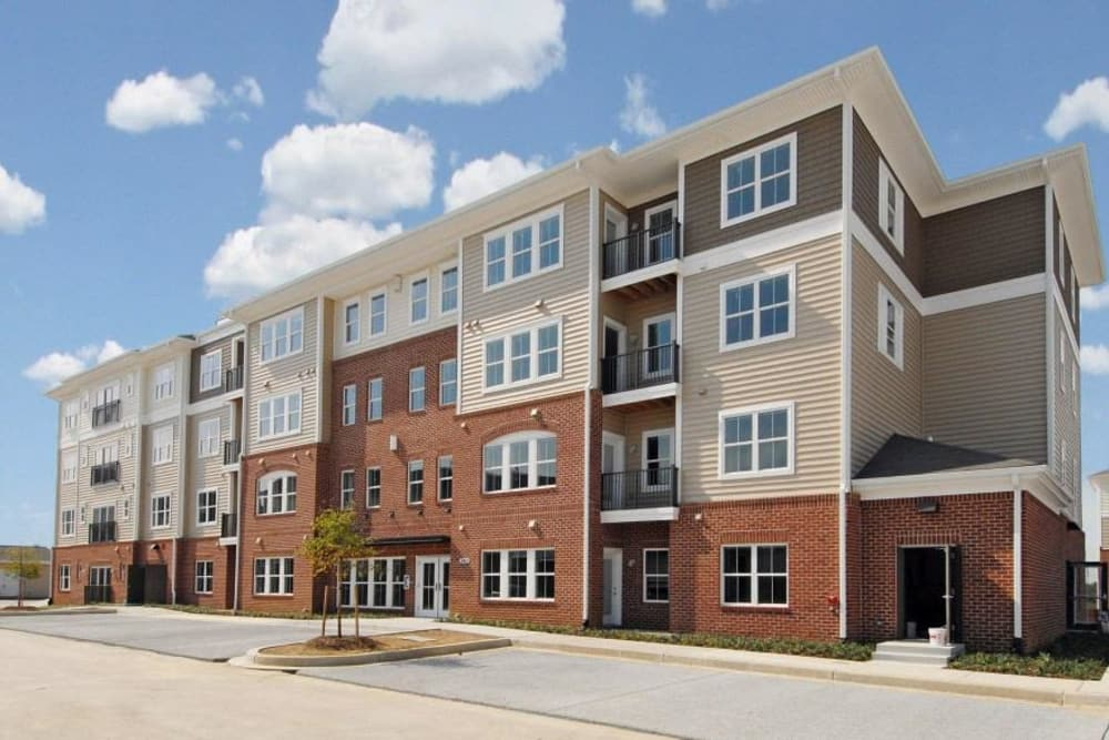 View of Orchard Meadows Apartment Homes in Ellicott City, Maryland