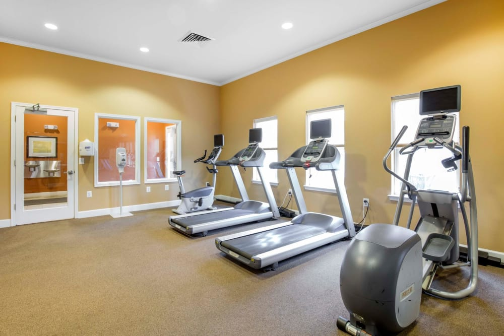 Our apartments in Ellicott City, Maryland showcase a spacious fitness center