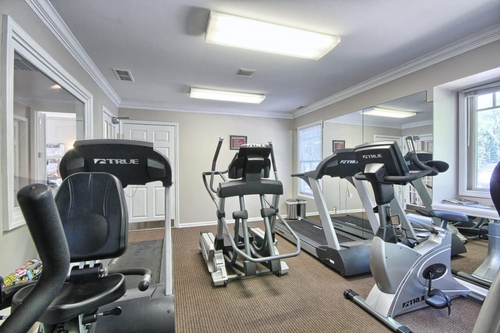 Fitness center at Legends Fox Creek in Clarkston, Clarkston
