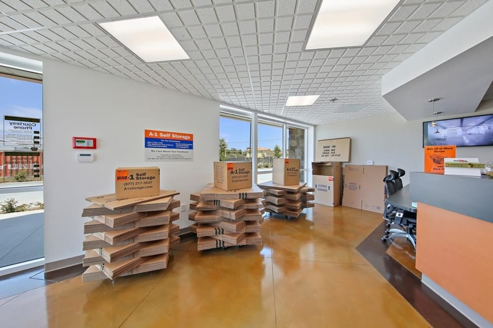 packing supplies in San Diego, CA | A-1 Self Storage