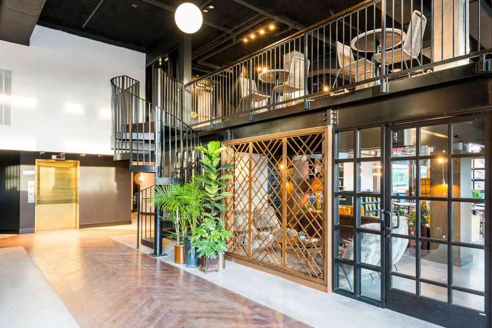 Rendering of Olmsted Nashville's lobby