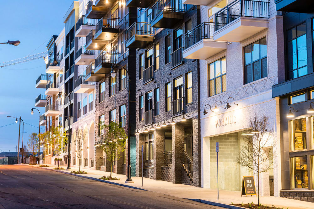 Rendering of newly renovated apartments in Nashville, Tennessee