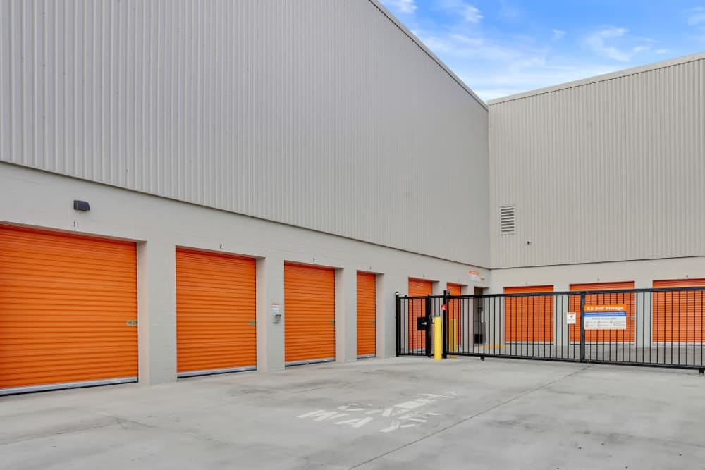 outside storage units San Jose, CA | A-1 Self Storage