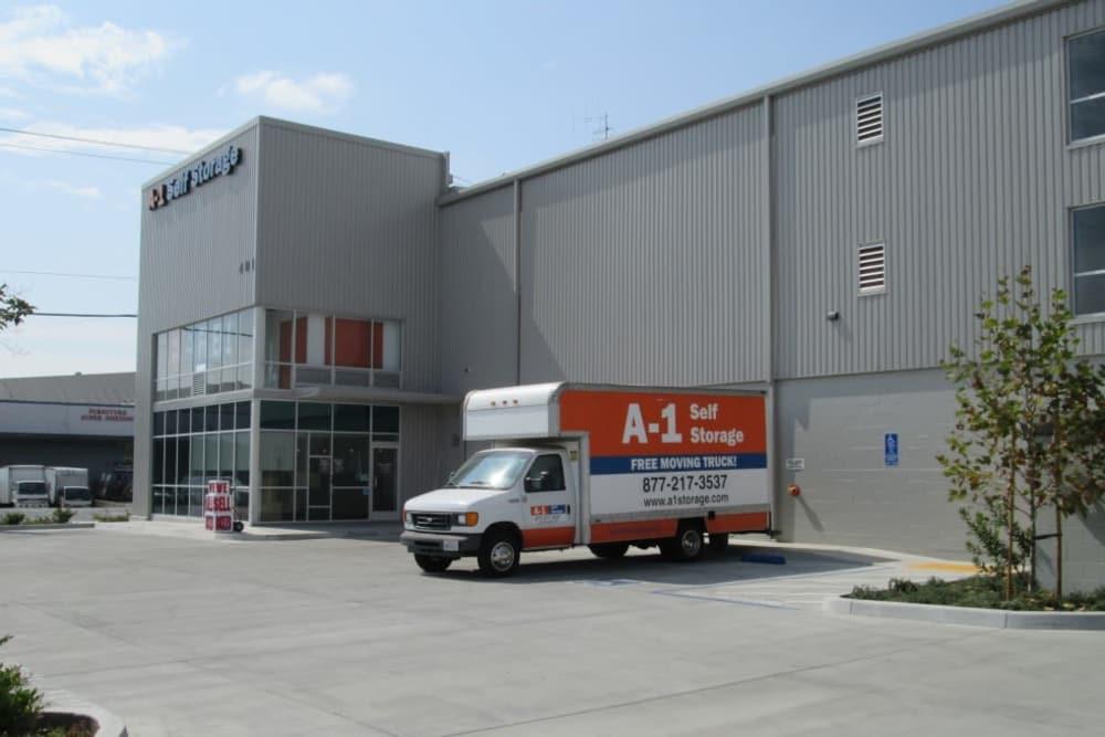 storage units entrance San Jose, CA | A-1 Self Storage