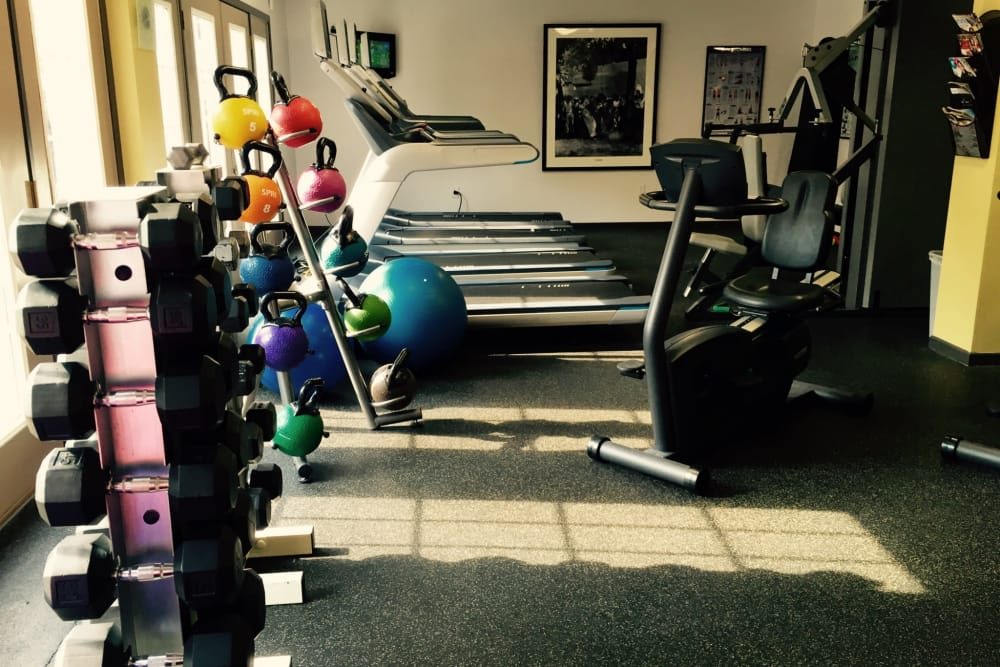 Enjoy our spacious fitness center at Loring Park Apartments in Minneapolis