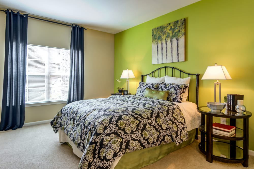 Relax in your bedroom at The Maddox in Duluth, GA