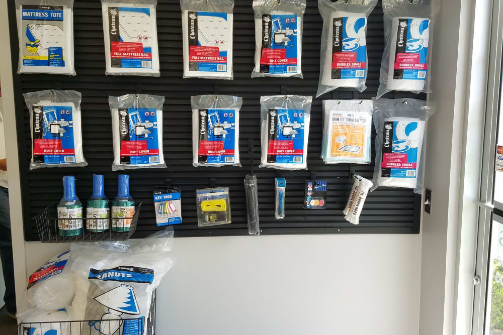Packing supplies available at West Dickman Road Self Storage