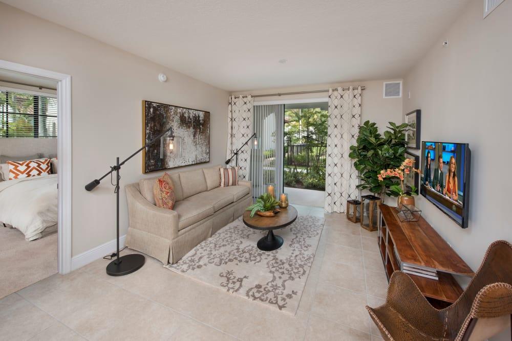 Living room at at Casa Vera in Miami, FL